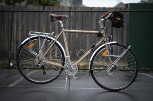 Bicicletta da viaggio (foto di Gavin Anderson)