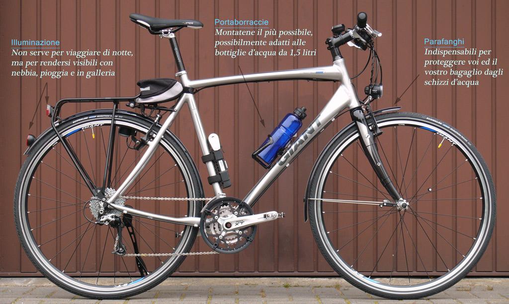 Anatomia di una bicicletta da viaggio viaggiareinbici.com
