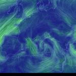 Mappa animata dei venti