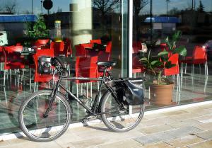 Bicicletta in vetrina!