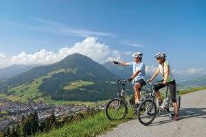 cicloturismo con supporto