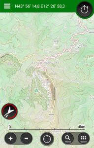 App per la navigazione in bicicletta: ViewRanger